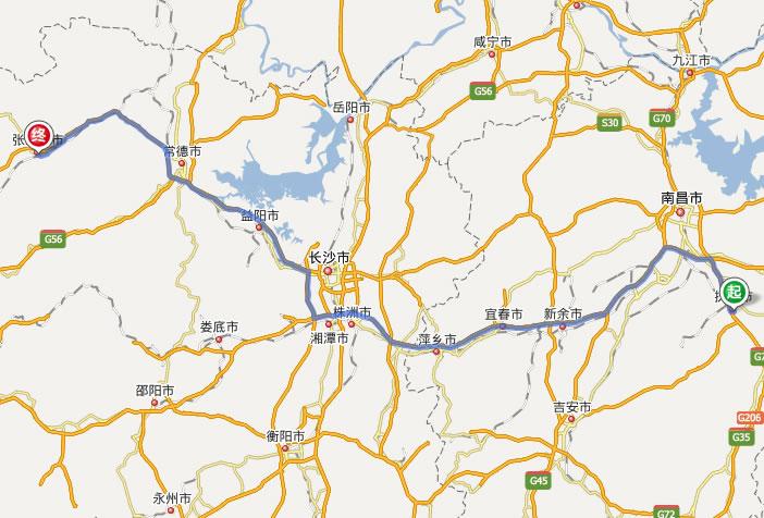 武陵源风景区 线路